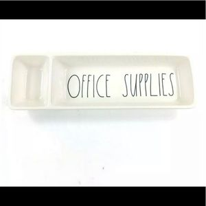 Rae Dunn Office Supplies tray dish Organizer - NEW